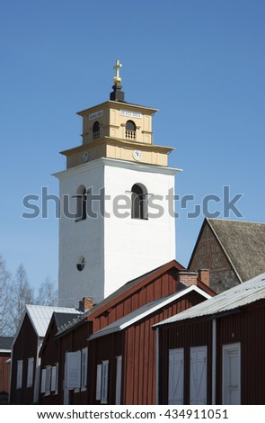 Church Town, A World Heritage In Northern Sweden