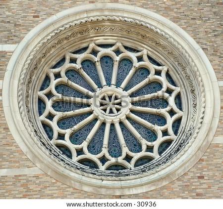 church window - stock photo