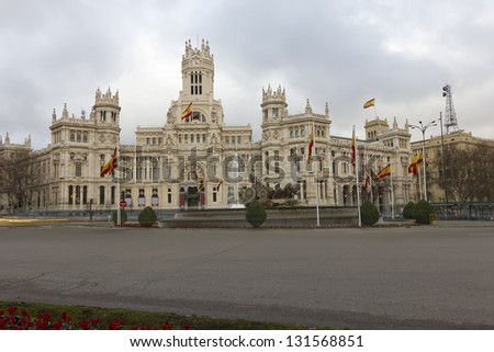 Cibeles view.Madrid