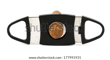 Cigar cutter - stock photo