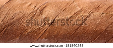 cigar texture background - stock photo