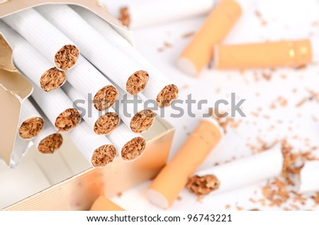 Cigarette - stock photo