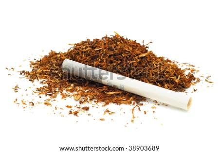 Cigarette and tobacco Belomor Grade 5 - stock photo
