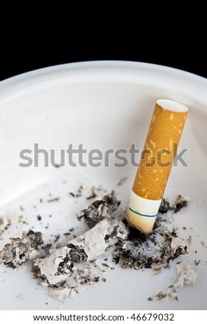 Cigarette butt - stock photo