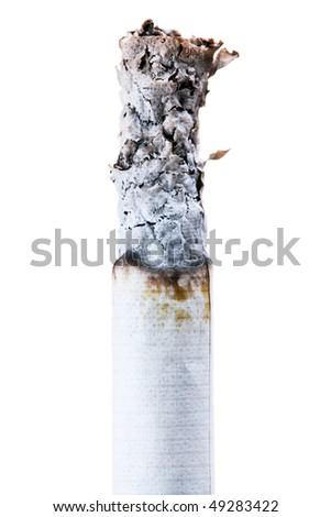 Cigarette close-up. - stock photo