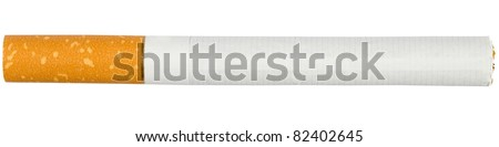 Cigarette. isolated over white background. - stock photo