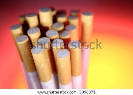 Cigarettes - stock photo