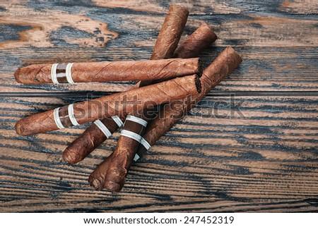 Cigars - stock photo