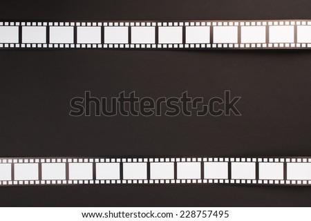 Cinema background. Cinema stripes - stock photo