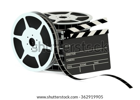 cinema concept isolated on white background