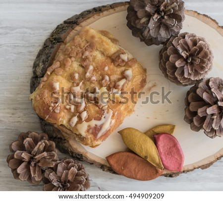 Cinnamon Bear Claw Snack