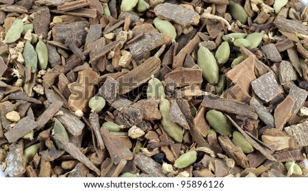 Cinnamon Chai - stock photo