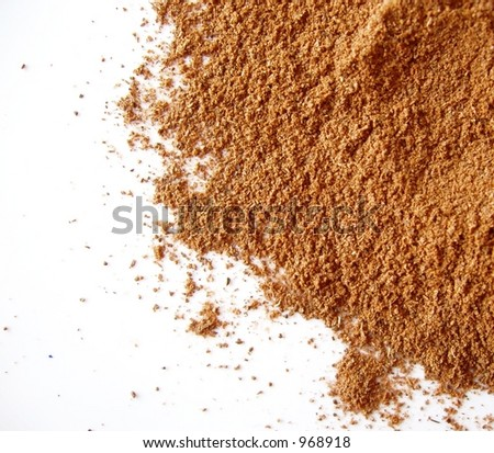 cinnamon spice - stock photo