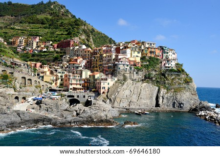 Cinque Terra - stock photo