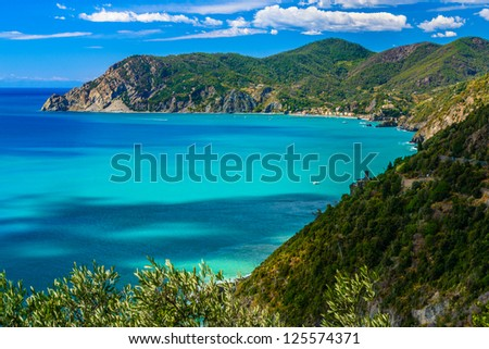 Cinque Terre National Park, Liguria, Italy - stock photo