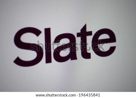 "CIRCA MAY 2014 - BERLIN: the logo of the brand ""Slate""."