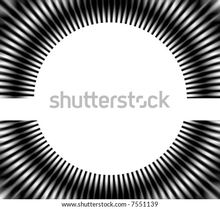 circle background with radial design - stock photo