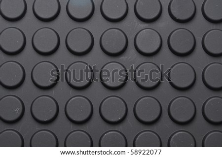 circle black pad wall paper - stock photo
