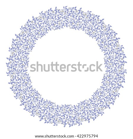 Circle Cute Hand Drawn Frames On Stock Illustration 422975794 ...