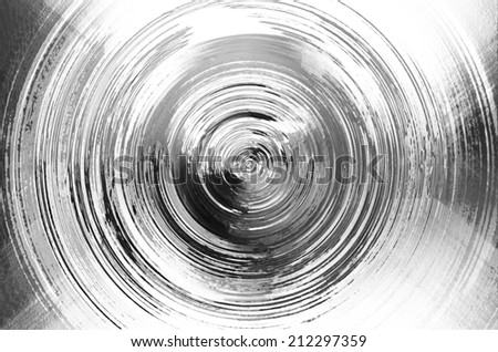 Circle mercury chrome texture background,sic-fi style
