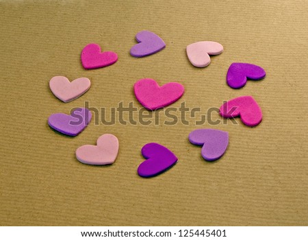 Circle of love - stock photo