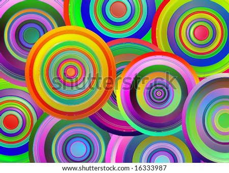 Circles - stock photo