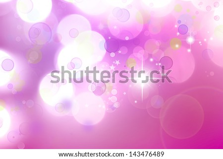 Circles and stars abstract background