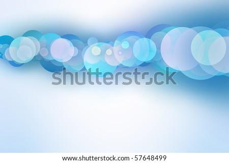 circles modern background - stock photo