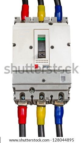 Circuit-breakers (fuse) - stock photo