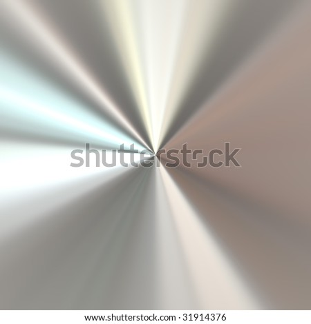 Circular brushed aluminum metal texture.  Stainless steel makes a great modern background in any design. - stock photo