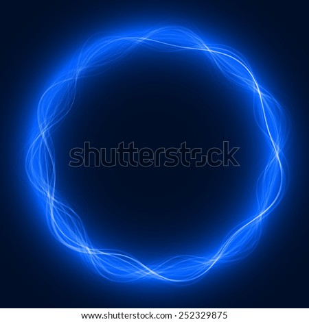 circular energy waves  (colored, waves version)