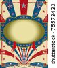 circus vintage poster. A vintage background for a poster. - stock