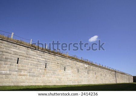 Citadel , Halifax, Canada - stock photo