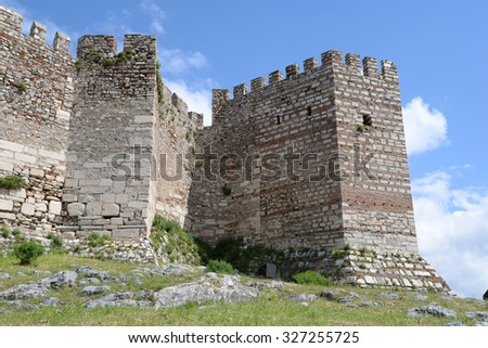 Citadel in Selcuk, Turkey