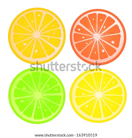 Citric slices
