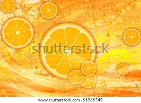 CITRON JUICE - stock photo
