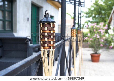 Citronella torch outdoor