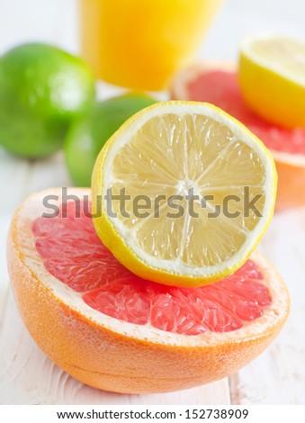 citrus - stock photo
