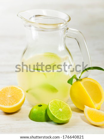 Citrus fresh juice - stock photo