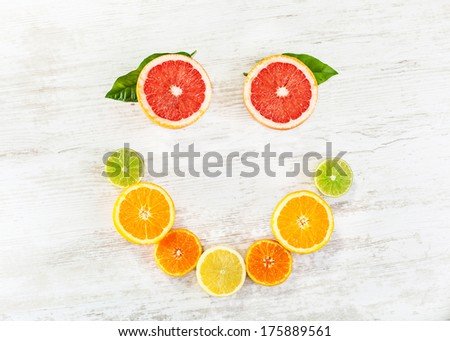 Citrus fruit - stock photo