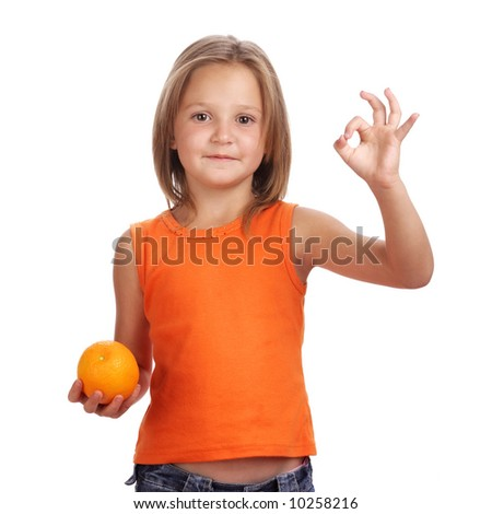 Citrus fruit is good for young children
