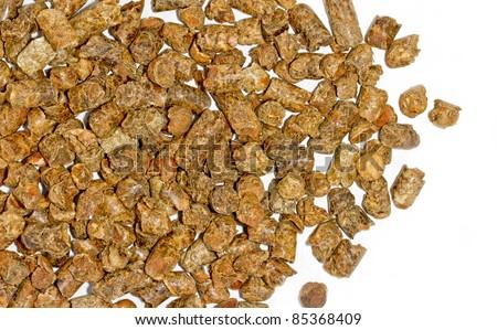 Citrus pulp pellets - stock photo