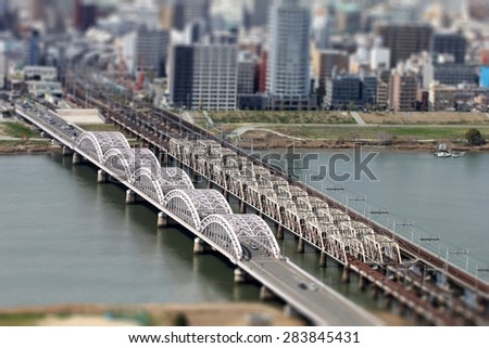 City - stock photo