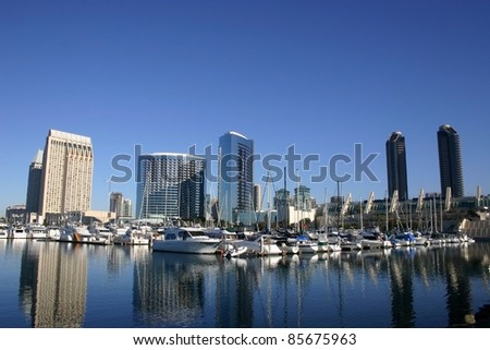 city bay at San Diego