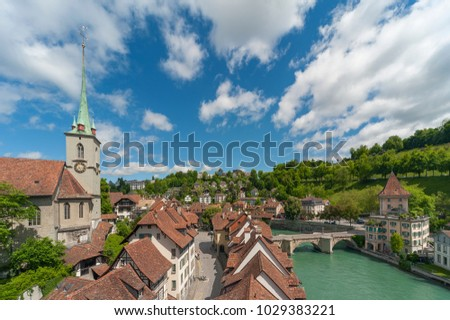 City Bern, Switzerland.