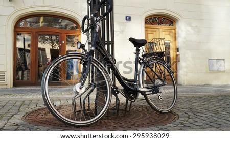 City Bicycle - stock photo