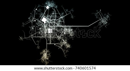 City blueprints blueprint roads water system stock illustration city blueprints or blueprint to roads and water system malvernweather Choice Image