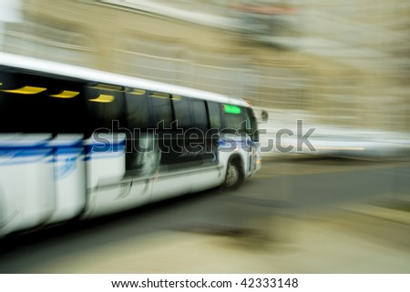 City Bus - stock photo