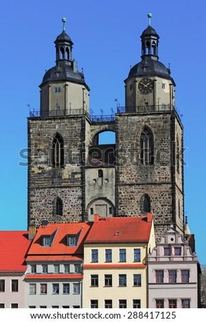 City Church Saint Mary - stock photo