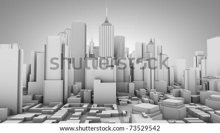 City concept - stock photo